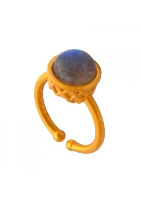 Medium Gold Plated Ring - Cosmic Ice Cream