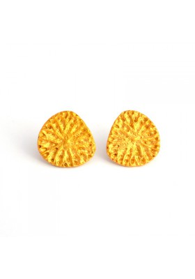 Yao 18kt gold plated earrings