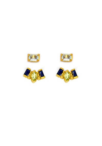 PALM & SEA gold plated Ear jackets
