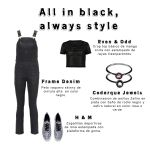 Our jewels, your style - All in black, always style