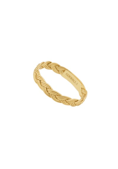 INNOCENT BRAID anillo plata baño O.Amarillo 18k