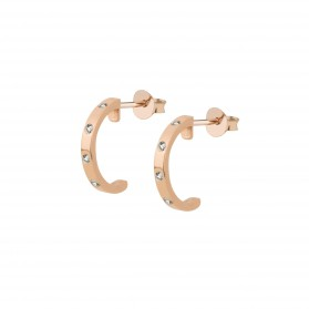 INNOCENT STONES silver 18k rose gold plated