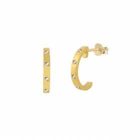 INNOCENT STONES silver 18k gold plated