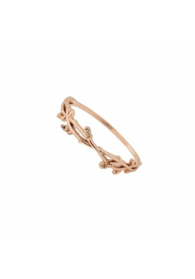 INNOCENT BLOOM anillo plata B.Oro rosa 18k
