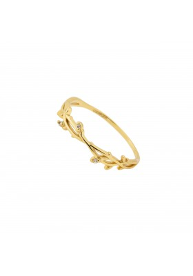 INNOCENT BLOOM anillo plata B.Oro 18k