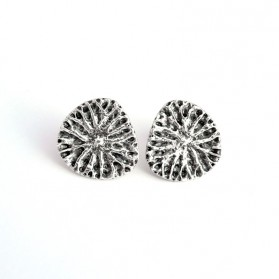 Yao silver earrings
