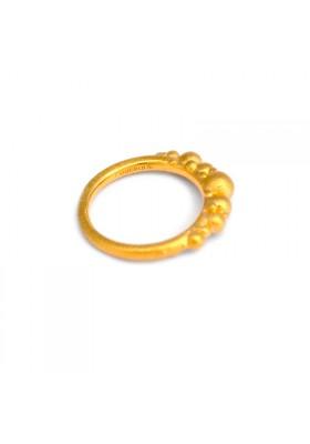 BANAU Anillo átomos baño oro